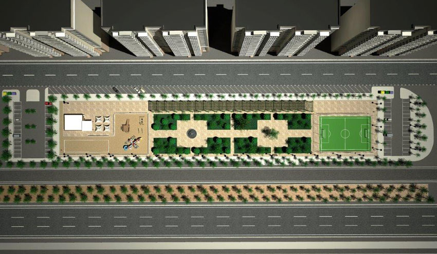 EMASESA comienza la construcción del depósito de retención de la Avenida Kansas City