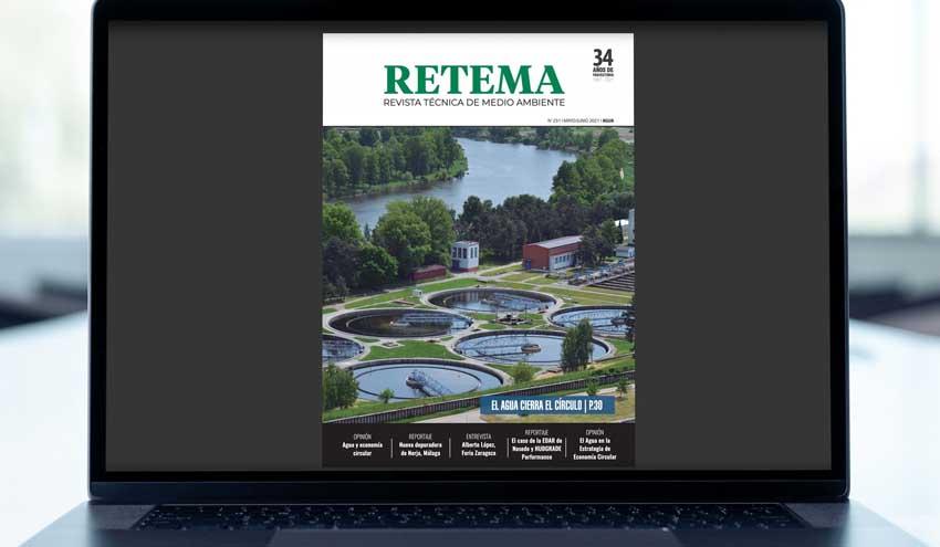 Lee ya la edición digital del número 231 Especial Agua de RETEMA