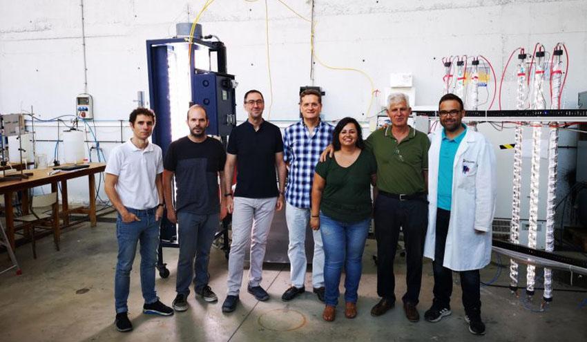 Desarrollan un método que reutiliza el agua del cultivo de microalgas para obtener moléculas de interés biotecnológico