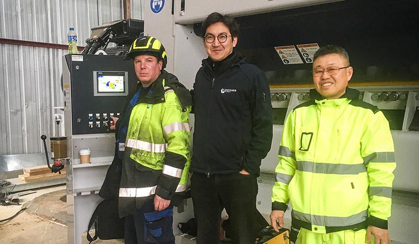Lindner Recyclingtech fortalece su red de distribución y servicio internacional con un nuevo centro en Singapur