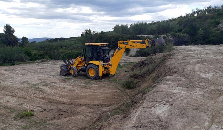 DAM inicia las obras de construcción de la nueva depuradora de Beniatjar