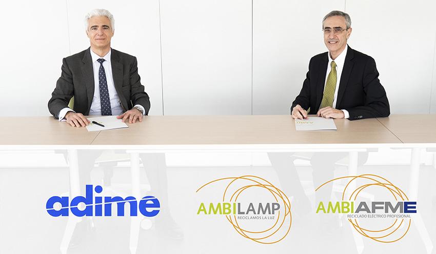 ADIME y AMBILAMP-AMBIAFME acuerdan incorporar la distribución al marketplace social AMBIPLACE