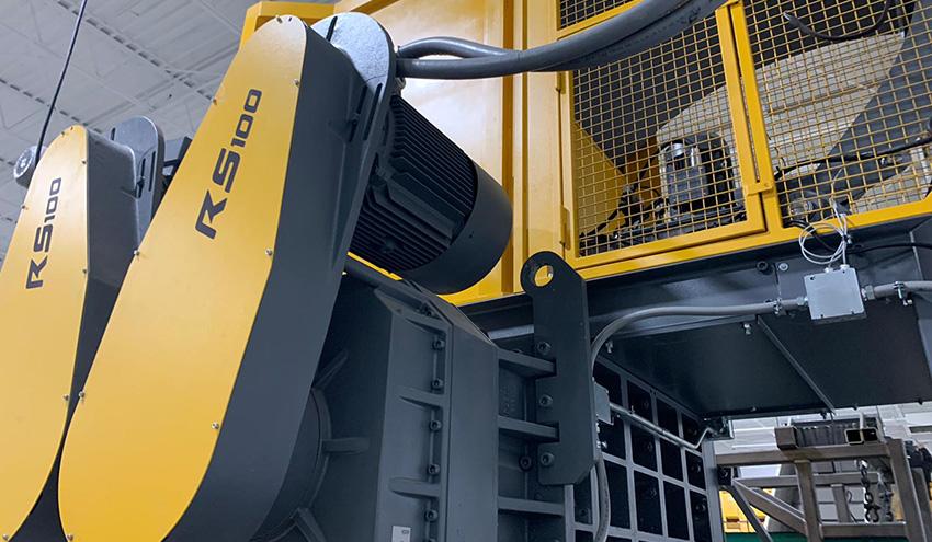 UNTHA USA instala un triturador RS100 para tratamiento de RAEE en Ohio