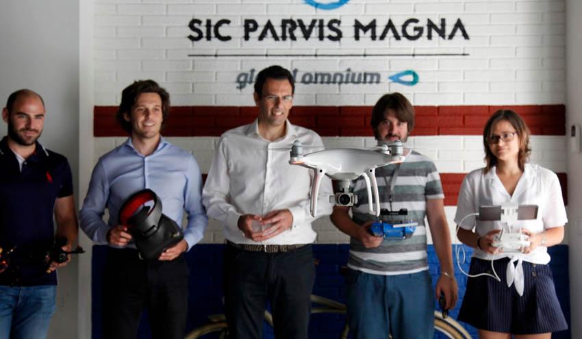 Global Omnium incorpora a su incubadora dos nuevas startups especialistas en drones