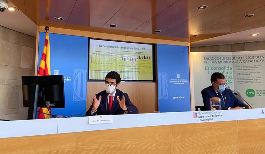 La recogida selectiva de residuos en Cataluña crece un 9% y ya llega al 45% del total