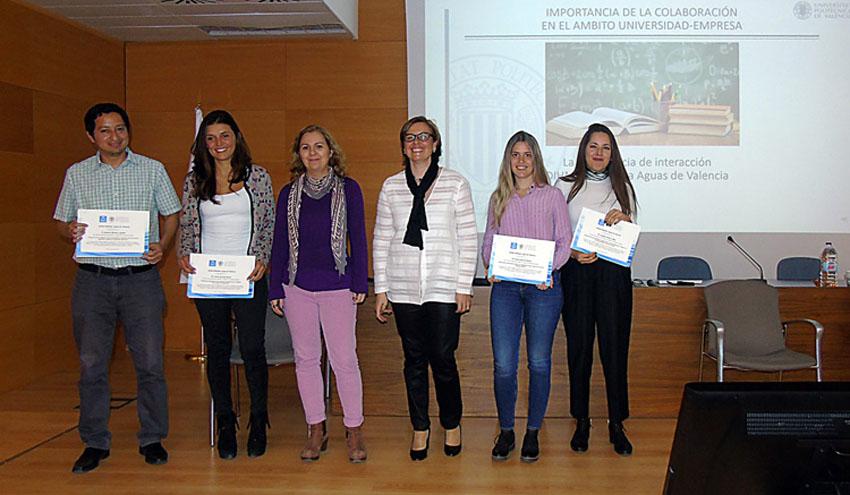 La Cátedra de Aguas de Valencia acerca a los estudiantes la realidad de la empresa