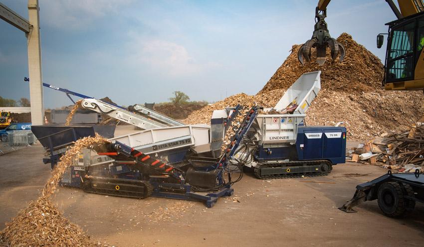 Lindner demostrará la eficiencia de sus soluciones de reciclaje en RecyclingAKTIV 2019