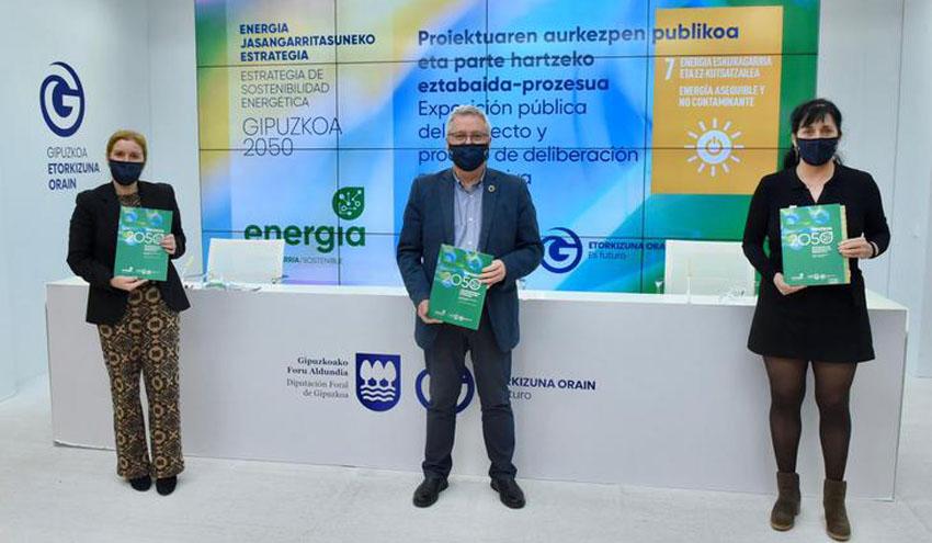 Gipuzkoa abre el proceso de participación para el Decreto Foral de Sostenibilidad Energética