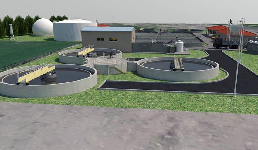 GS INIMA firma el contrato de ampliación y mantenimiento de la depuradora de Numancia de la Sagra