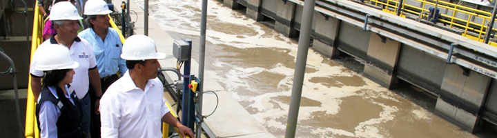 Arranca el funcionamiento de la PTAR Taboada en Perú, la más grande de Sudamérica