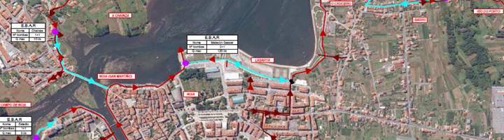 La Xunta de Galicia hace entrega al Ayuntamiento de Noia de la nueva red de colectores generales