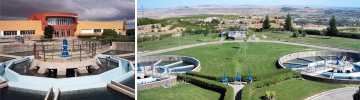 La UTE SAV - DAM Aguas se adjudica el contrato de gestión de la ETAP de Tudela en Navarra