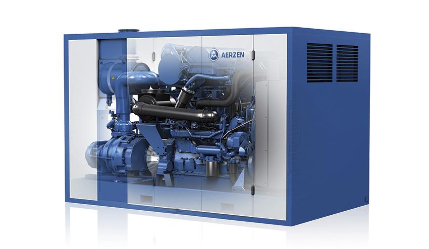 Compresores VMX de Aerzen: soluciones flexibles para una amplia gama de aplicaciones