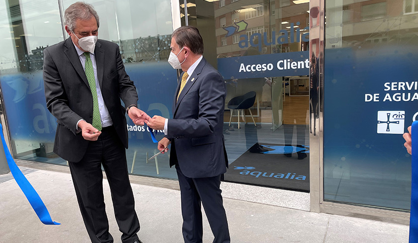 Aqualia inaugura sus nuevas oficinas en Oviedo