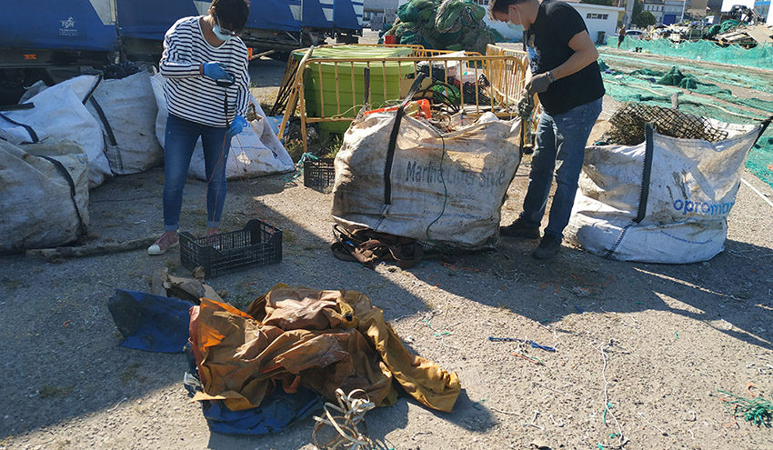 El proyecto RepescaPlas obtiene productos de alto valor de las basuras marinas