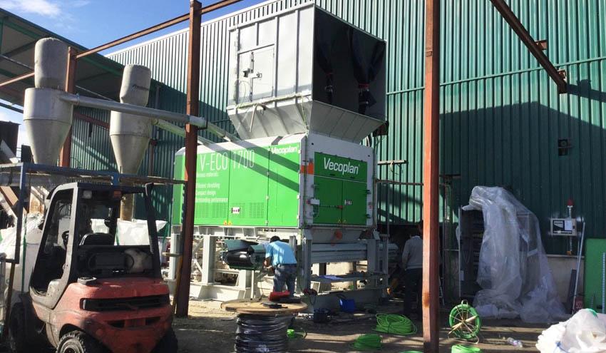 Vecoplan presentará su eficiente tecnología de trituración en IFAT
