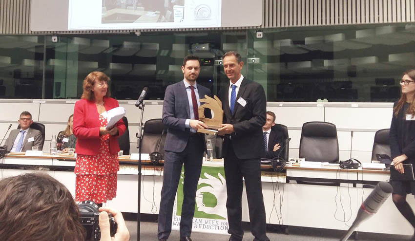 La Semana Europea de Prevención de Residuos premia un proyecto vasco sobre contaminantes emergentes