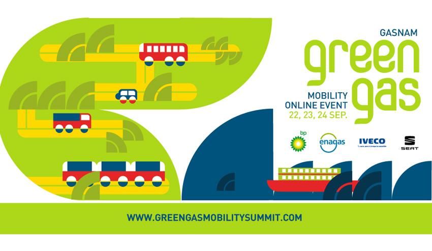 Gasnam celebrará en septiembre Green Gas Mobility Online Event