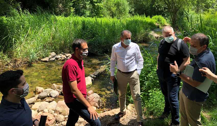 Impulso a la mejora medioambiental de la cuenca del río Ripoll