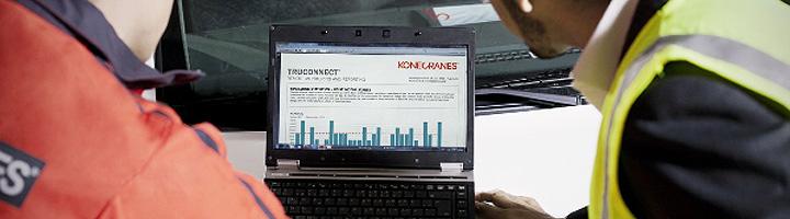 El futuro del mantenimiento es ya una realidad con el servicio en tiempo real TRUCONNECT de Konecranes