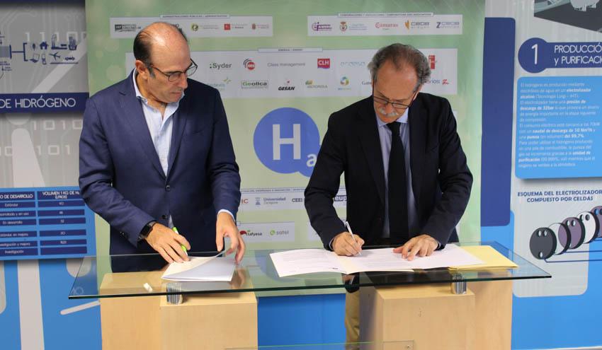 El Gobierno de Aragón y Enagás colaboran en el desarrollo de proyectos de gases renovables