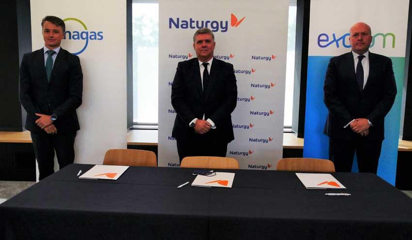 Exolum, Naturgy y Enagás desarrollan la primera gran alianza de hidrógeno verde para movilidad en España