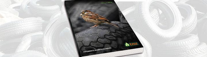 TNU presenta su memoria 2012 con un balance de más de 6'6 millones de neumáticos usados gestionados