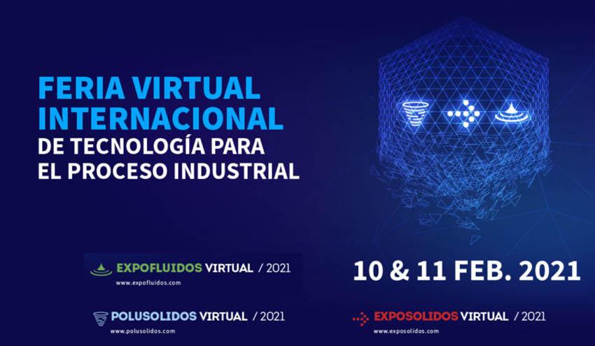 La primera Feria Virtual Internacional de Tecnología para el Proceso Industrial se celebrará en febrero