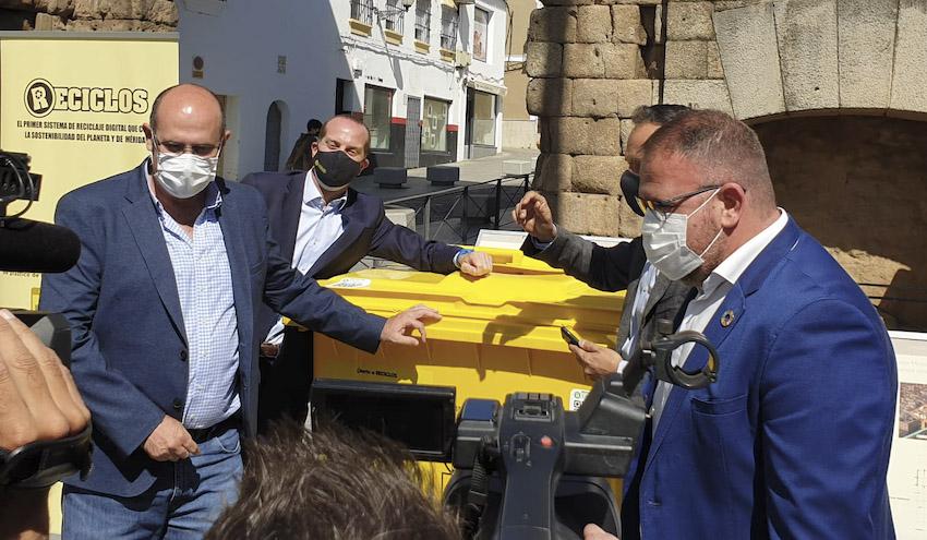 RECICLOS, el sistema de reciclaje con recompensa de Ecoembes, llega a Mérida