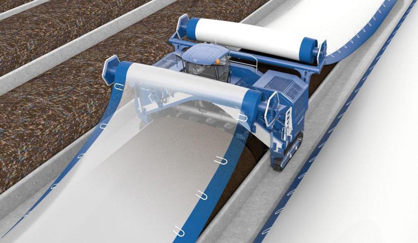 Eggersmann presenta en IFAT su nueva tecnología para compostaje de residuos