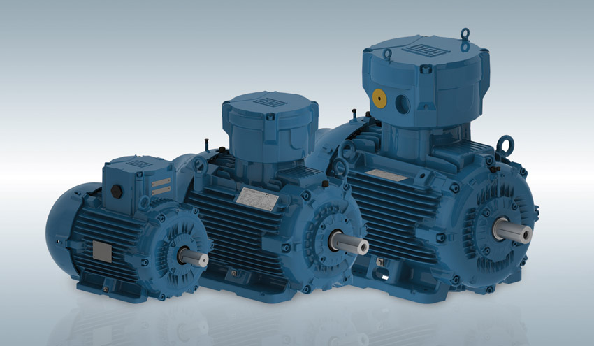 WEG refuerza su compromiso como proveedor de motores antideflagrantes energéticamente eficientes