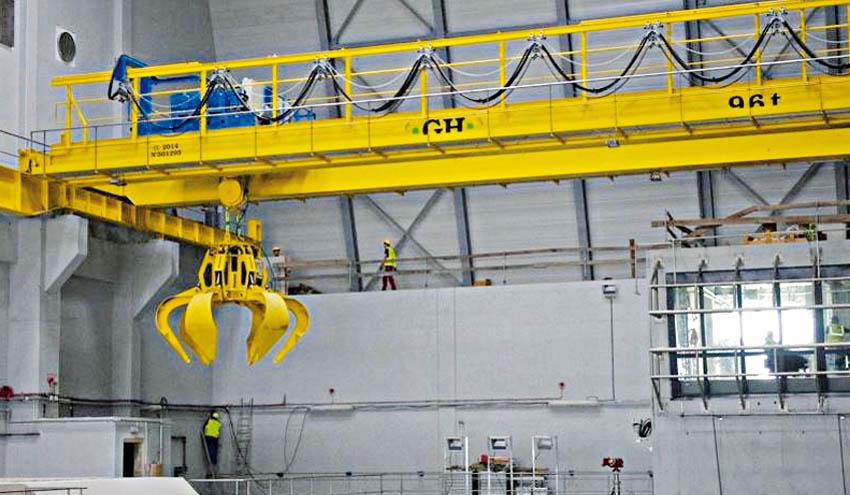 Procesos optimizados y eficientes en plantas de residuos con GH Cranes