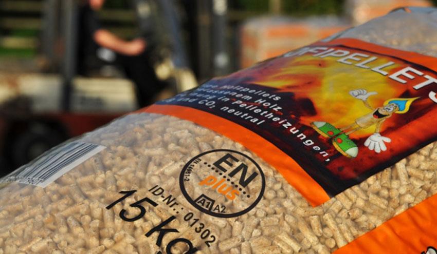 El 85% del pellet fabricado en España está certificado con el sello de calidad ENplus®