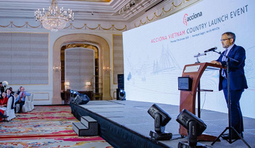 ACCIONA organiza un evento para celebrar su entrada oficial en Vietnam