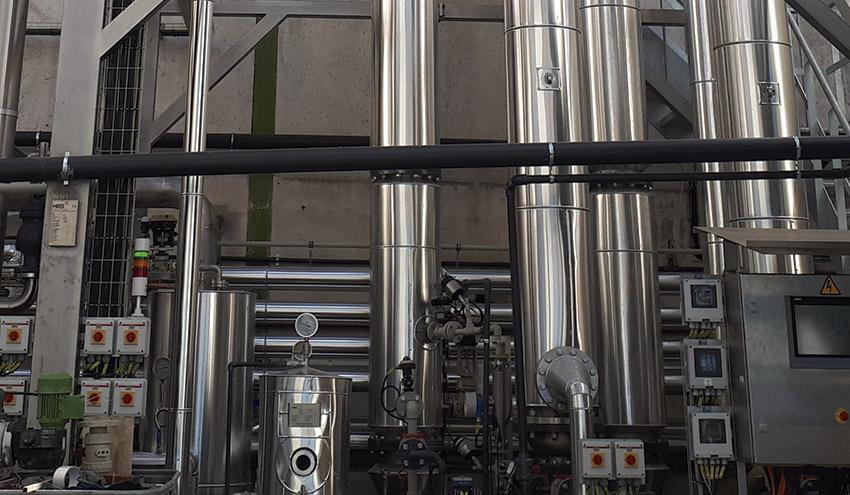 Recuperación de productos de valor con tecnología ZLD de HRS Heat Exchangers