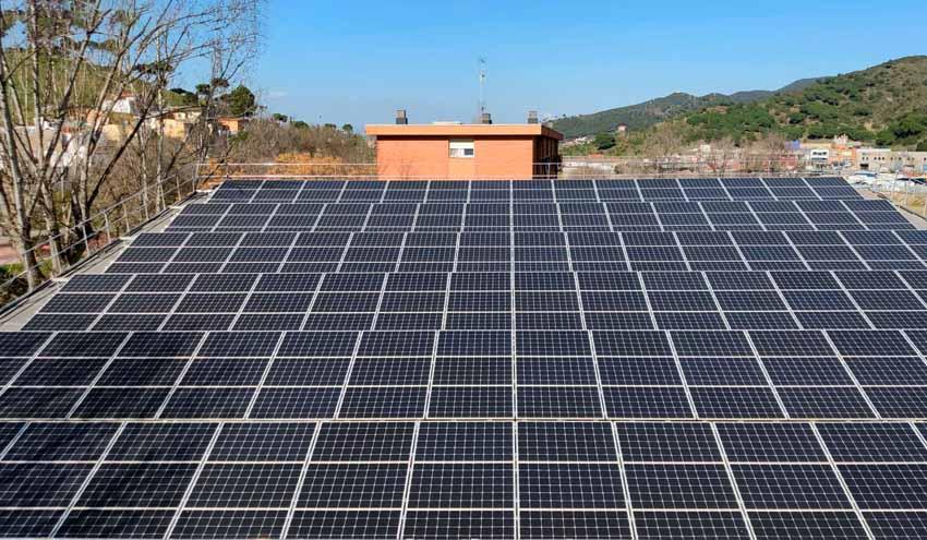 TERSA finaliza la renovación integral de la instalación fotovoltaica de la pérgola de Vallbona