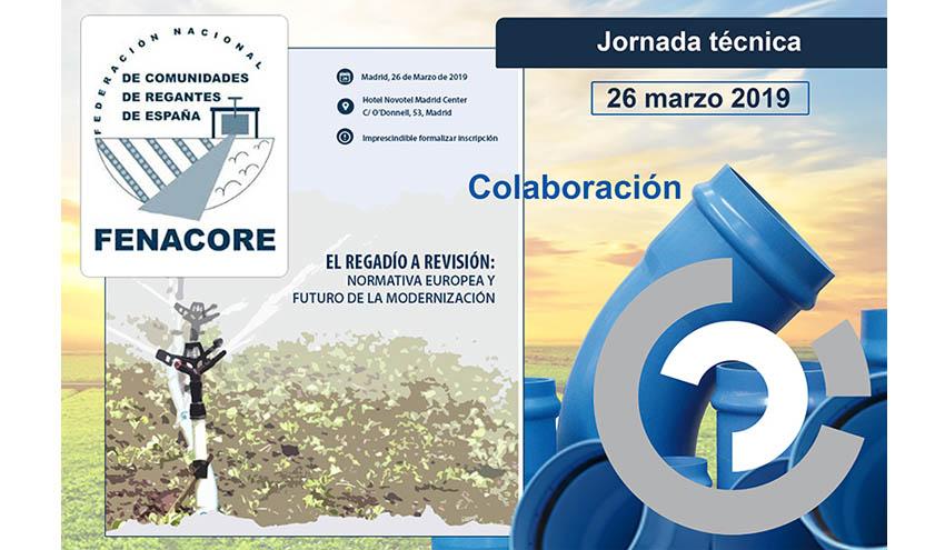 Molecor colabora en la XIX Jornada Técnica de Fenacore en Madrid