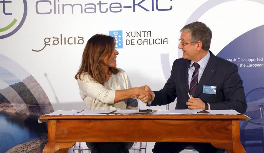 EIT Climate-KIC crea su primera antena en Galicia