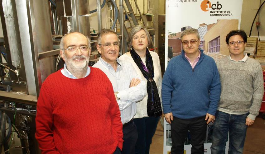 Cinco investigadores del Instituto de Carboquímica del CSIC Aragón, entre los más relevantes a nivel mundial