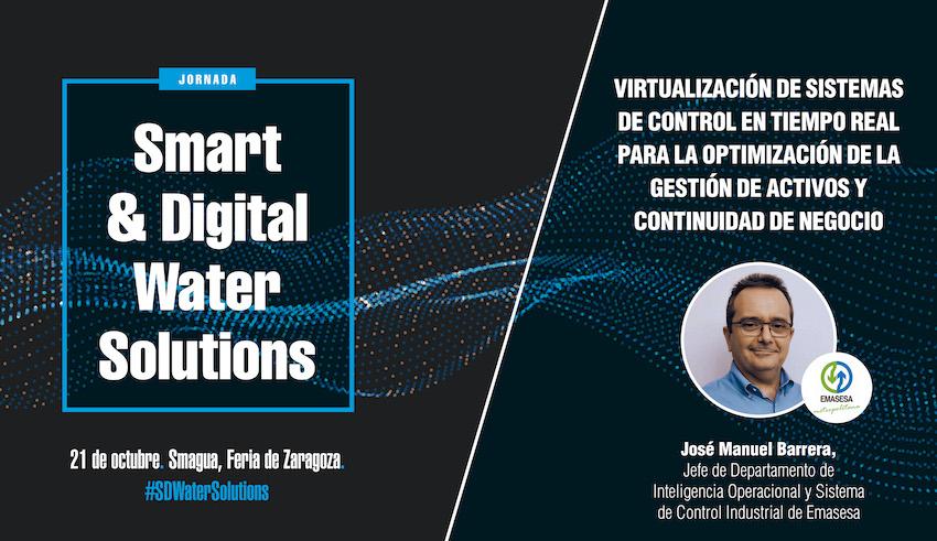 EMASESA participa en la Jornada Smart & Digital Water Solutions
