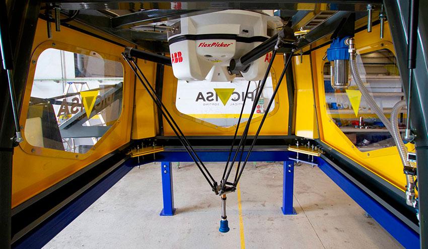 PICVISA junto a Ferrovial desarrollan tecnología robótica para separación de residuos de plástico