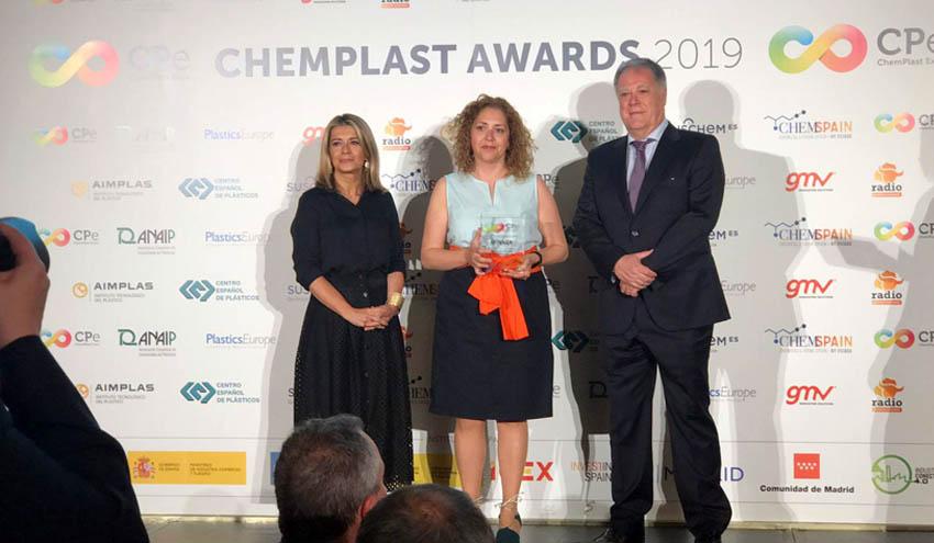 Una solución para valorización de fibras de carbono de Eurecat, premiada en los ChemPlast Awards 2019