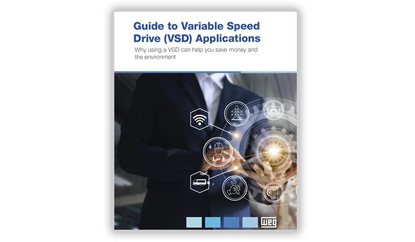 WEG lanza una guía de aplicaciones de variadores de velocidad