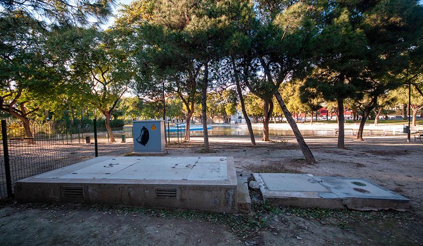 Un proyecto europeo permitirá a Murcia regar sus zonas verdes con agua freática tratada