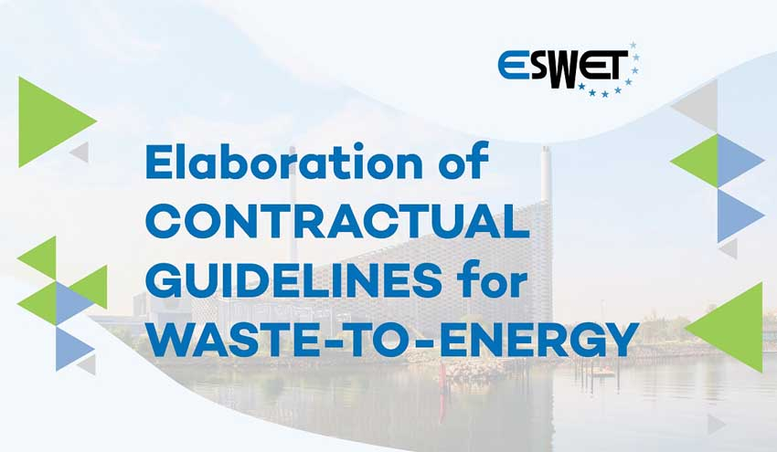 ESWET elabora guías para los contratos del sector de valorización energética de residuos