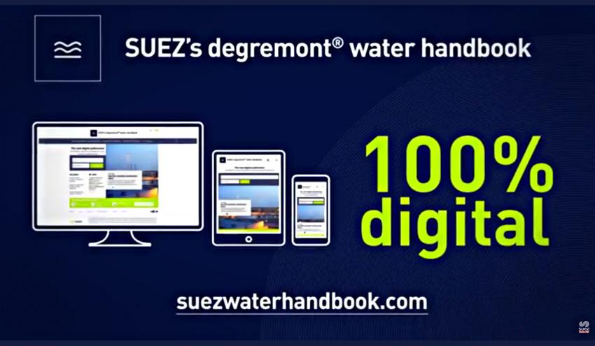 SUEZ presenta el Manual Técnico degremont® en formato digital