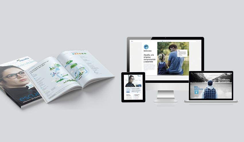 El Informe de Sostenibilidad 2019 de Aqualia se posiciona como uno de los mejores del mundo