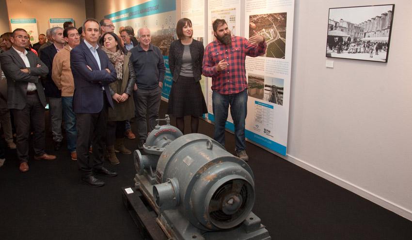 """Global Omnium/Aguas de Valencia y Ayuntamiento de Gandia inauguran la exposición """"GANDIA, fets d'aigua"""""""