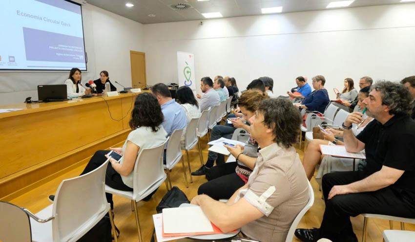 Gavá y Cetaqua presentan los resultados de un proyecto para desarrollar la economía circular en el municipio
