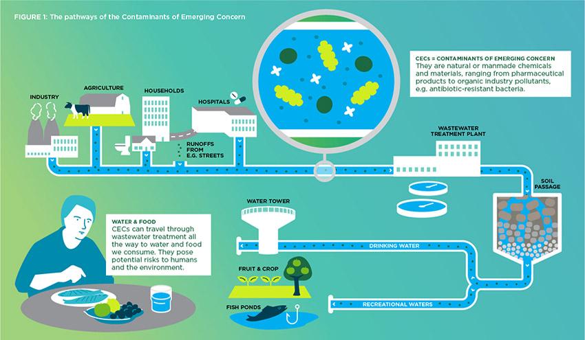 Científicos internacionales alertan del riesgo real y potencial de los contaminantes emergentes en el agua